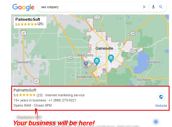 Gainesville SEO Company